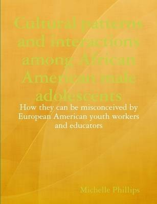 Cultural Patterns and Interactions Among African American Male Adolescents: How They Can be Misconceived by European American Youth Workers and Educators by Michelle Phillips image