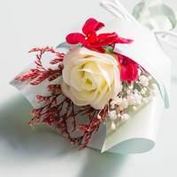 Short Story: Floral Bouquet Box - Light Blue