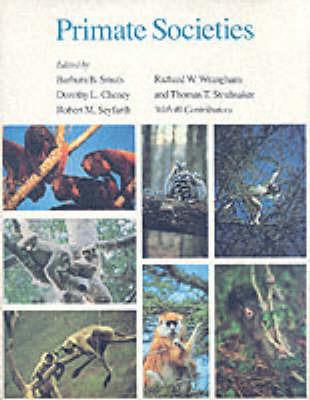Primate Societies by Barbara B Smuts image