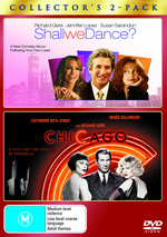 Chicago / Shall We Dance? - Double Pack (2 Disc Set) on DVD