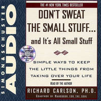 Dont Sweat Small Stuff by CARLSON image