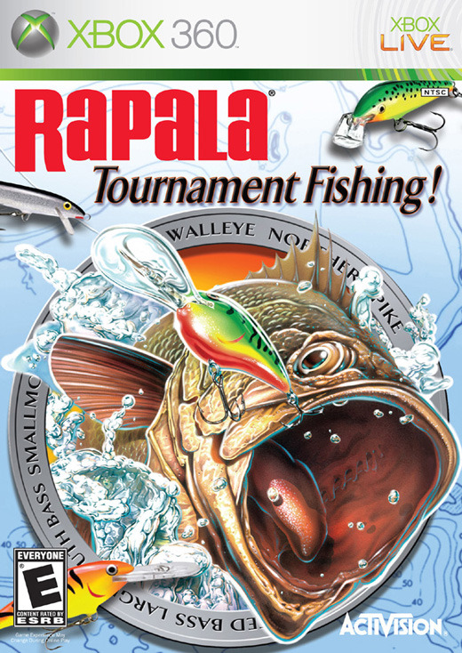 Rapala Tournament Fishing for Xbox 360