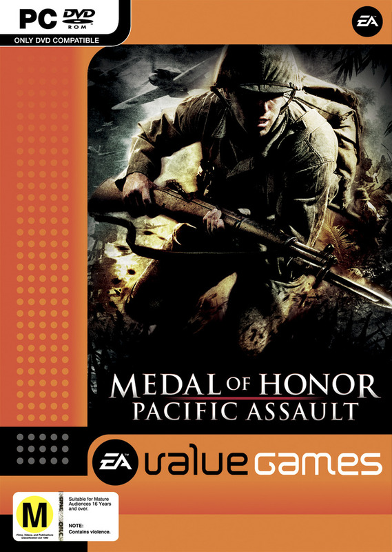 Medal Of Honor: Pacific Assault (Value Games) for PC Games