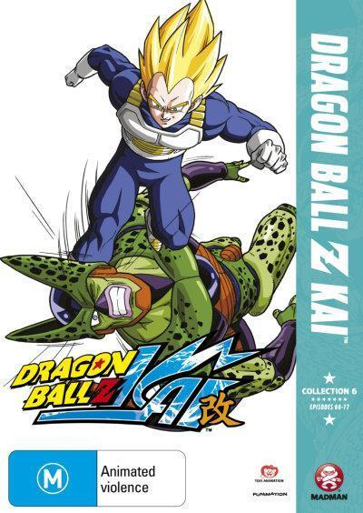 Dragon Ball Z - Kai Collection 6 on DVD