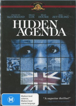 Hidden Agenda on DVD