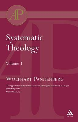 Systematic Theology by Wolfhart Pannenberg