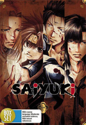 Saiyuki: Collection 2 (Vol 7-12) (6 Disc Fatpack) on DVD