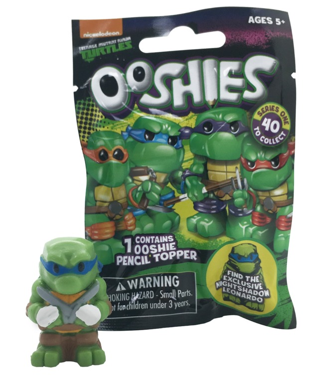 Ooshies Tmnt Foil Bag Toy At Mighty Ape Australia