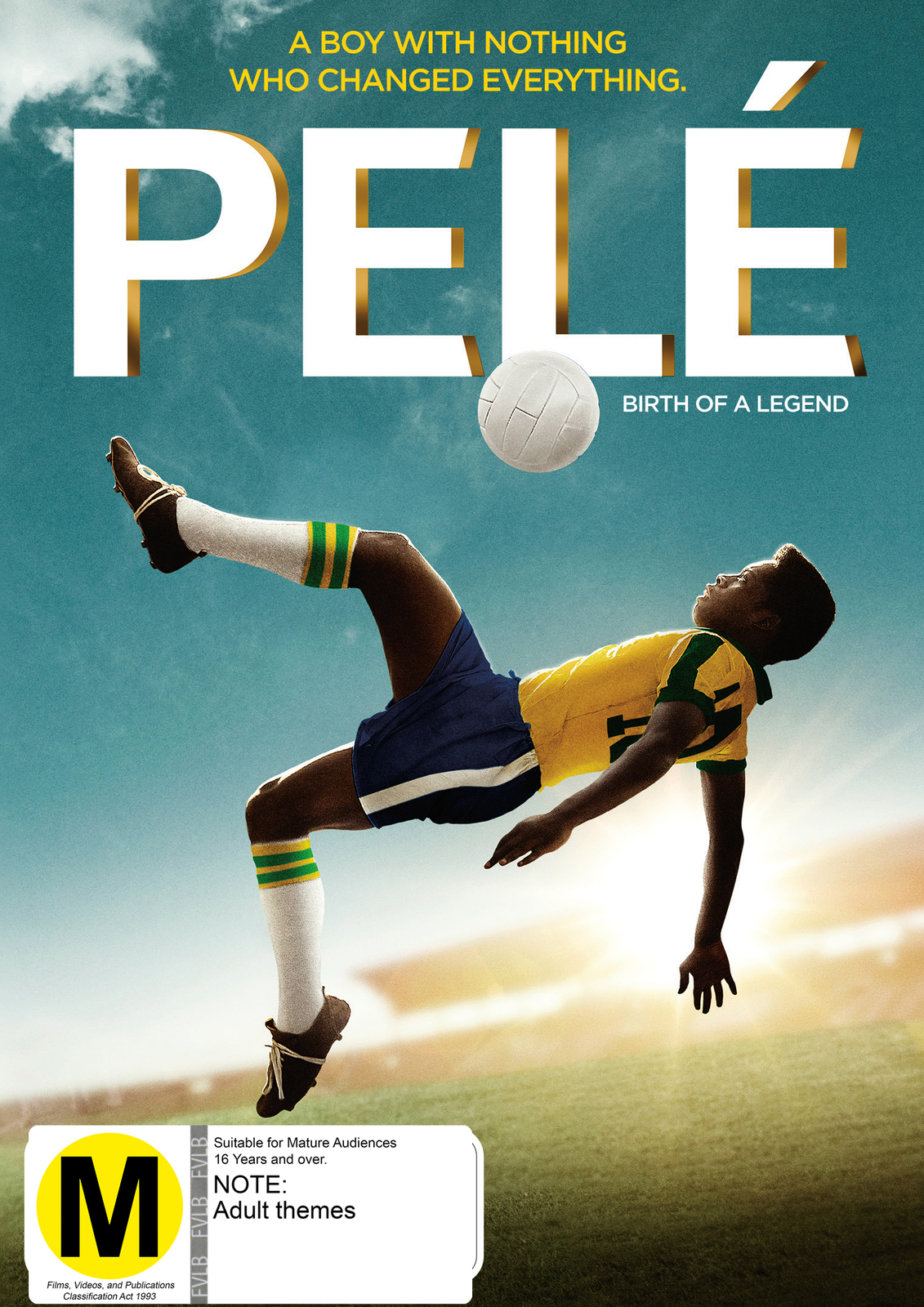 Pele: Birth of a Legend on DVD image
