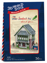3D World Style - English The Sandwich Shop