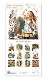 Alice In Wonderland 2018 Wall Calendar