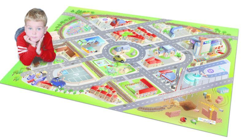 District Playmat with Cars image