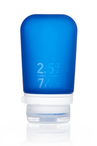 GoToob+ Blue Silicone Travel Bottle - Small (53ml) | at Mighty Ape NZ