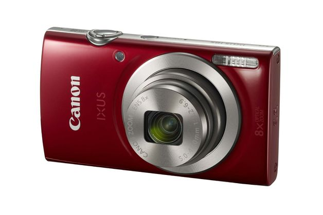 Canon IXUS 185 RED Digital Camera
