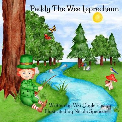 Paddy The Wee Leprechaun by Viki Doyle Heagy