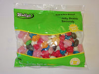 Solly's Rainbow Jelly Beans Seconds 500g