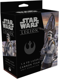 Star Wars Legion: Laser Canon Team Unit