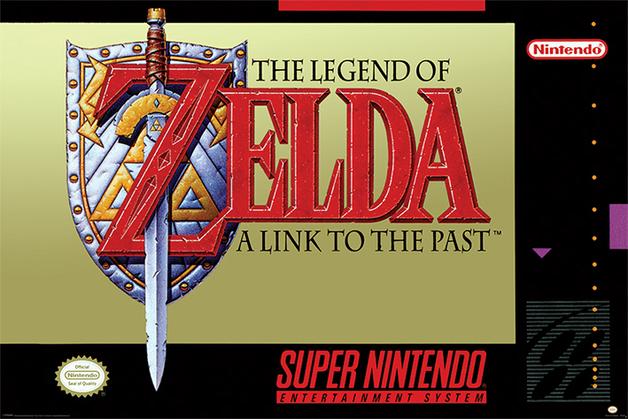 Super Nintendo Maxi Poster - Zelda (985)