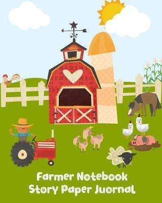 Farmer Notebook Story Paper Journal by Kiddo Teacher Prints