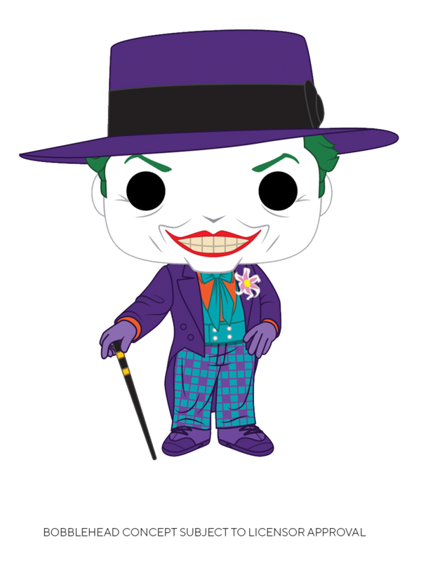 Batman: 1989 - Joker (with Hat) Pop! Vinyl Figure (with a chance for a Chase version!)