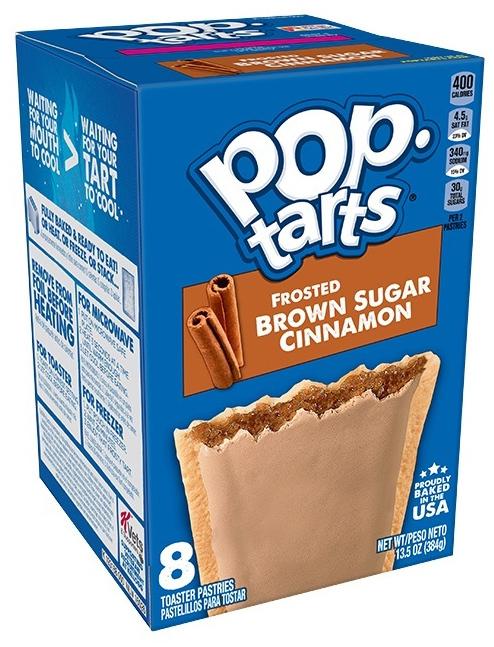Kellogg's Pop Tarts Frosted Brown Sugar Cinnamon (8 Pack)