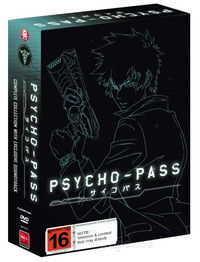 Psycho-Pass - Complete Collection (Limited Edition) on DVD