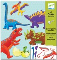 Djeco: Design - Jumping Jacks Dinosaurs