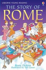 The Story Of Rome by Rosie Dickins image