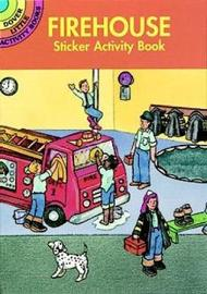 Fire House Sticker Activity Book by Cathy Beylon