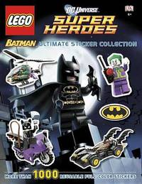 LEGO Batman Ultimate Sticker Collection - DC Universe Super Heroes by DK