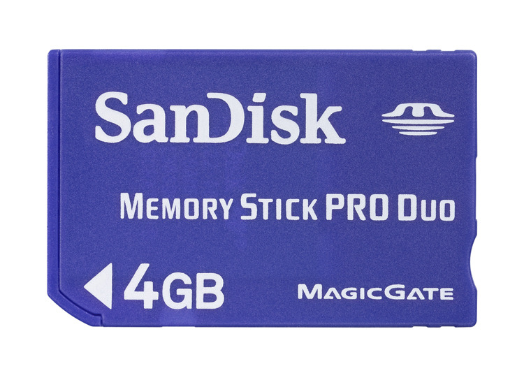 Sandisk Memory Stick Pro Duo 2GB image