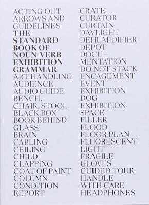 The Standard Book of Noun-Verb Exhibition by Niekolaas Johannes Lekkerkerk
