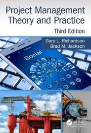 Project Management Theory and Practice, Third Edition by Gary L. Richardson image