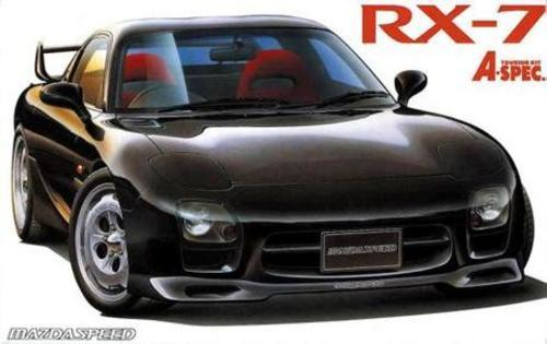 Fujimi 1/24 Mazda (FD3S) new RX-7 'A-Spec' - Model Kit