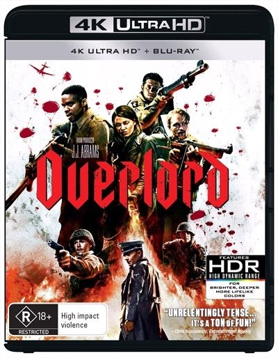 Overlord on UHD Blu-ray