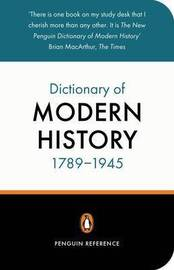 The New Penguin Dictionary of Modern History 1789-1945 by Duncan Townson image