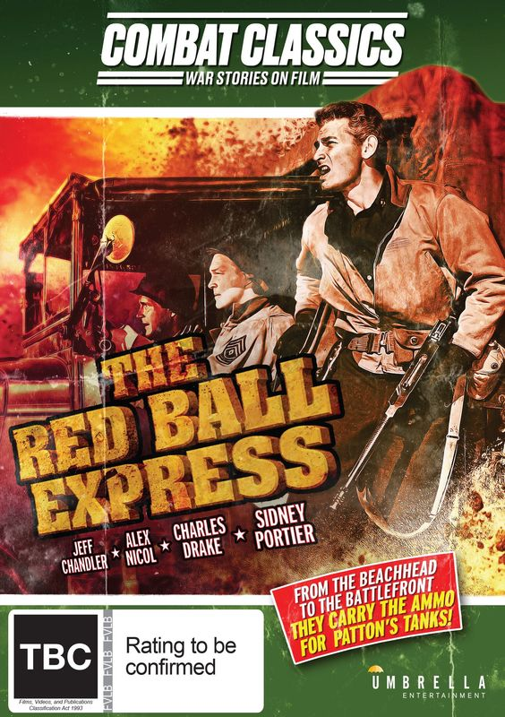 Red Ball Express on DVD