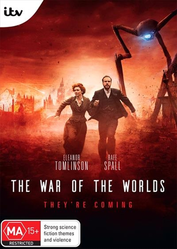 The War of the Worlds on DVD