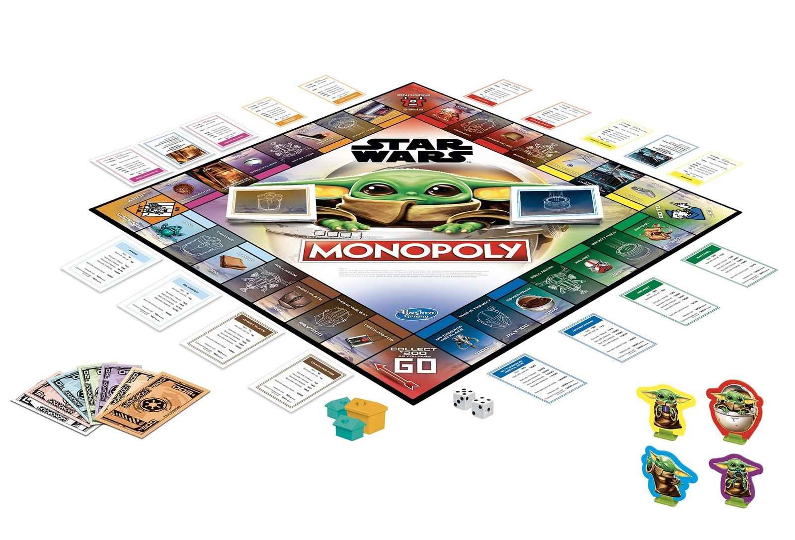 Monopoly: Star Wars - The Child Edition image
