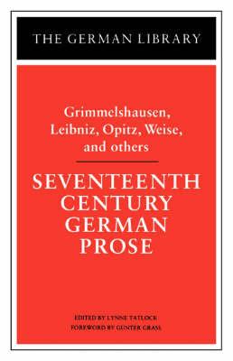 Seventeenth Century German Prose by Grimmelshausen