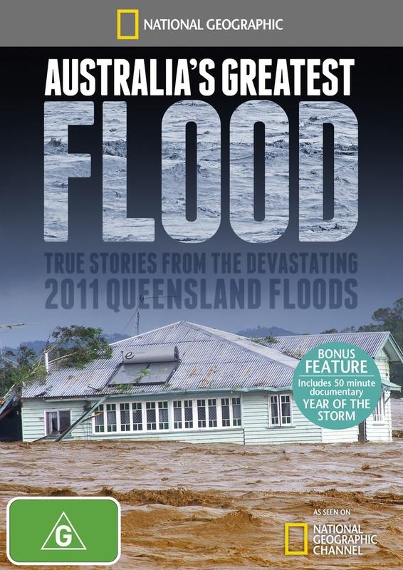National Geographic: Australia's Greatest Flood on DVD