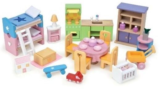 Le Toy Van Starter Furniture Set Toy At Mighty Ape Australia