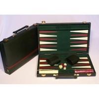 """Backgammon 15"""" Snake Skin Case - Green"""