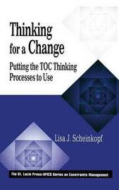 Thinking for a Change by Lisa J. Scheinkopf