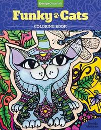 Funky Cats Coloring Book by Brenda Abdoyan