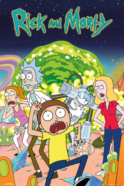 Rick And Morty: Maxi Poster - Group (492) image