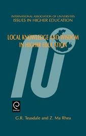 Local Knowledge and Wisdom in Higher Education image