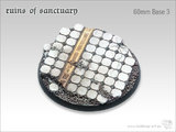 Tabletop-Art: Ruins of Sanctuary Bases #3 - (60mm)
