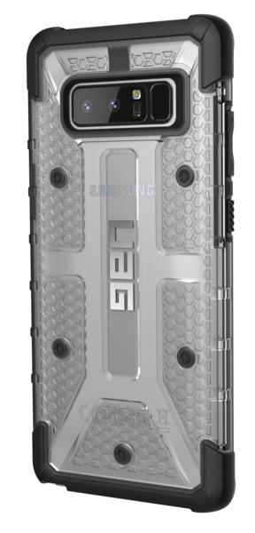 UAG Plasma Case for Galaxy Note 8 (Ice/Black) image