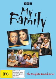 My Family - Complete Series 2 (2 Disc Set) on DVD image